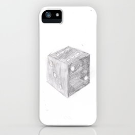 The Old Dice iPhone Case
