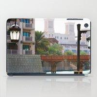 arab iPad Cases featuring Dubai - Outside Burj Al Arab by gdesai