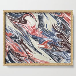 Abstract 187 Serving Tray