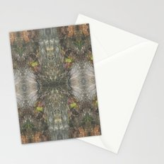 Natural Mosaic Collage 2 Stationery Cards