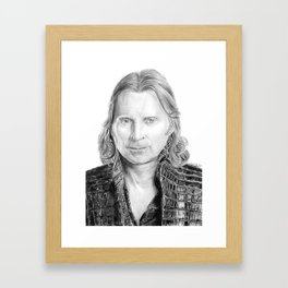 Robert Carlyle as Rumpelstiltskin Framed Art Print