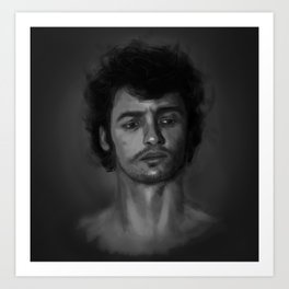 James  Art Print