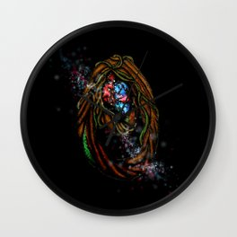 Enchanted Forest Magical Portal Wall Clock