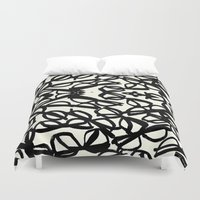 frames Duvet Covers featuring Frames by MBJP BLACK LABEL