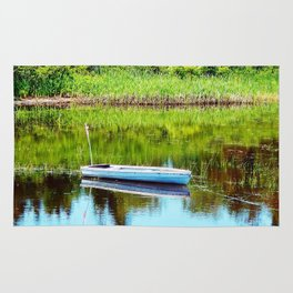 Boat on the Pond Rug
