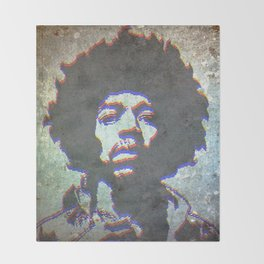 JIMI0304 Throw Blanket