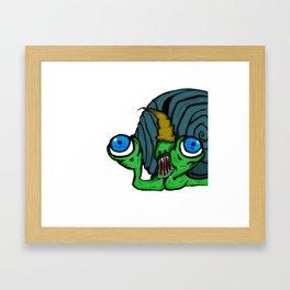 Slimerh! Framed Art Print