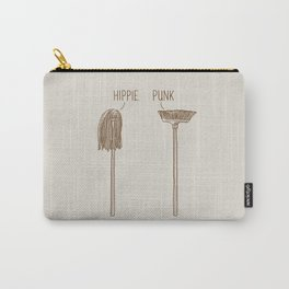 Hippie and Punk Carry-All Pouch