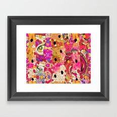 Eye on you... Framed Art Print