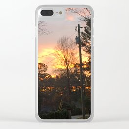 Anya's Sunrise 1 Clear iPhone Case