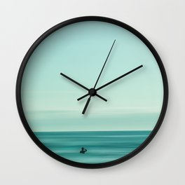 turquoise waters #buyart #society6 Wall Clock