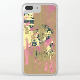 As you stood so I stand Clear iPhone Case
