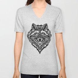 Spirit Wolf Unisex V-Neck