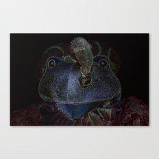 Sir Frog Canvas Print