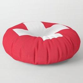 Ski Patrol Floor Pillow