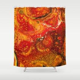 Lava Flow Shower Curtain