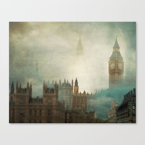 London Surreal Canvas Print