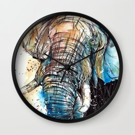 African Giant Wall Clock