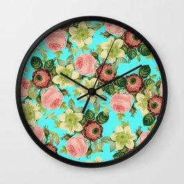 Hawaiian Flora #society6 #decor #buyart Wall Clock