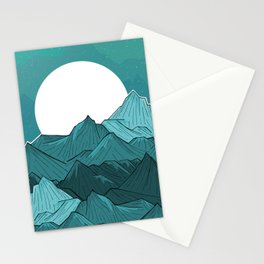 The Turquoise Mounts Stationery Cards