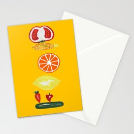 Good Food Stationery Cards