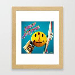Shoop Happens Framed Art Print