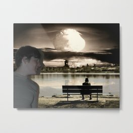 Atomic Bomb Boy Metal Print