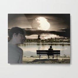 Atomic Bomb Boy Metal Print
