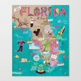 Feel Florida Canvas Print