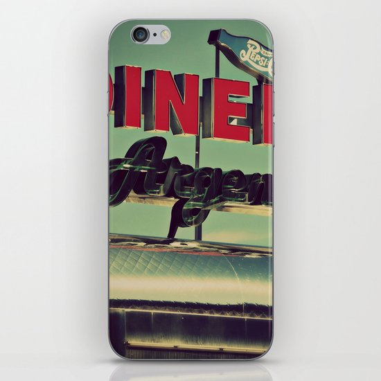 Vintage Diner  iPhone & iPod Skin