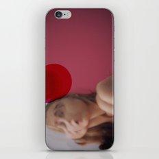 Red Blush iPhone & iPod Skin