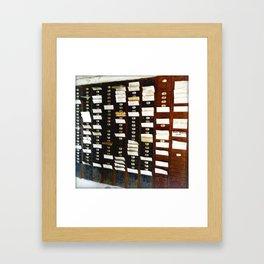 Abandoned IV Framed Art Print
