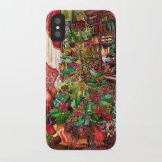 Bibliophile's Christmas iPhone X Slim Case