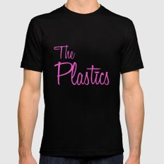 The Plastics - from the movie Mean Girls Mens Fitted Tee Black MEDIUM