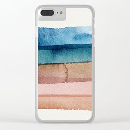 Desert Slides Clear iPhone Case