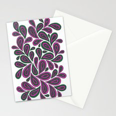 Pink and Green Stationery Cards