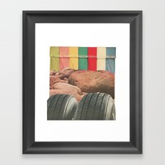Texture Series: Number Two Framed Art Print