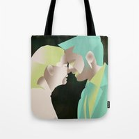 captain swan Tote Bags featuring Captain Swan S4 Finale by Christine Ring