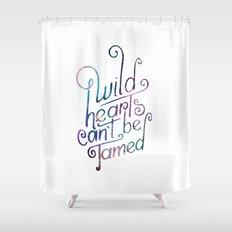 Wild Hearts Shower Curtain