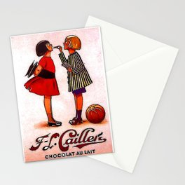 Vintage Caillers Chocolat Au Lait - Circa 1930 Stationery Cards