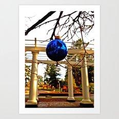 Wapato Park columns Art Print