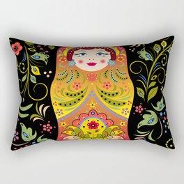 Russian matrioshka Rectangular Pillow