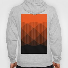 Orange to Black Ombre Signal Hoody