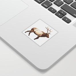 Elk Art Sticker