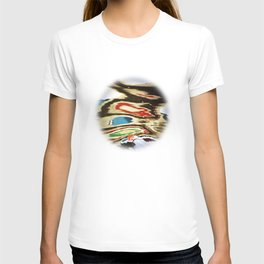 inverted reflection T-shirt