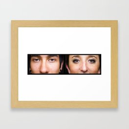 Love & Regret (1) Framed Art Print