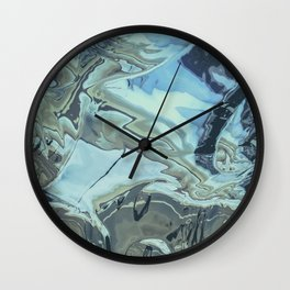 chrome flo tho Wall Clock