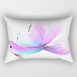 Rainbow Fish no 2 Rectangular Pillow