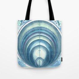 Harmonia Macrocosmica Plate 10 Blue Tote Bag