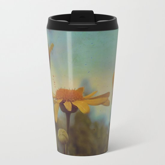 The beauty of simple things Metal Travel Mug